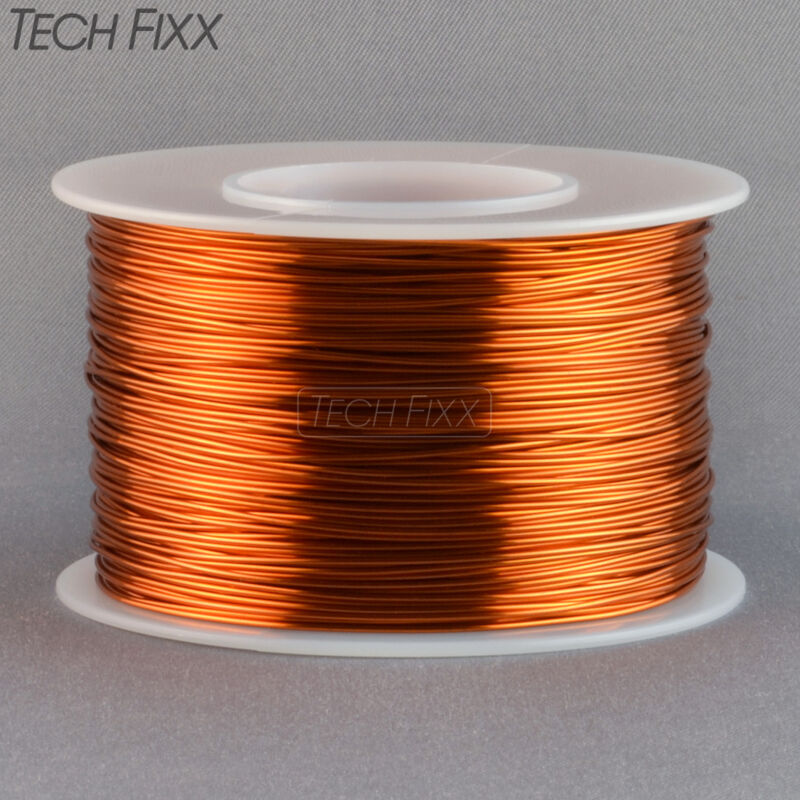 Magnet Wire 24 Gauge AWG Enameled Copper 396 Feet Tattoo Coil Winding 200C