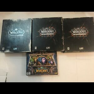 Collection of World of Warcraft games