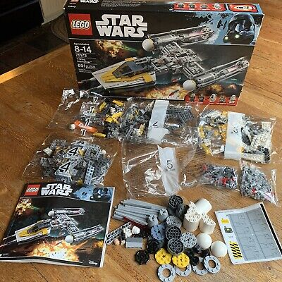 Disney LEGO Star Wars Y-Wing Starfighter Set Kit (75172) NEW opened box