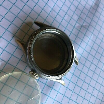 VINTAGE BULOVA TYPE A-11 MILITARY WRIST WATCH CASE AND BACK