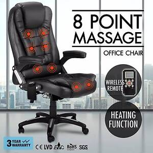 8 Point Massage Executive Office Computer Chair Heated Recliner Melbourne CBD Melbourne City Preview