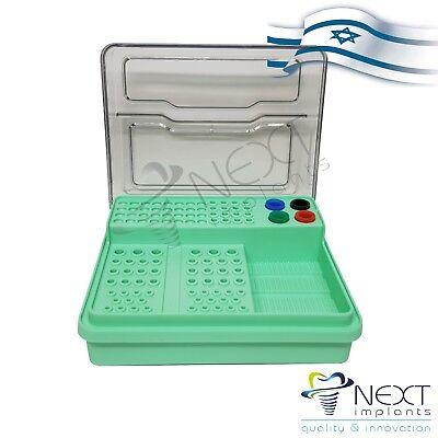 Organizer Autoclavable Dental Endodontic Box Endo Green Israel Made