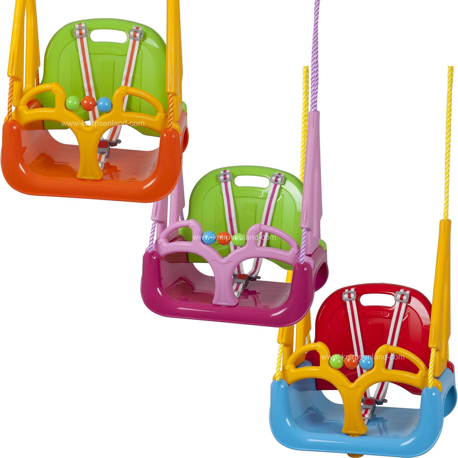 Kinderschaukel Babyschaukel Gartenschaukel 3 in 1 Baby Kinder Garten Schaukel