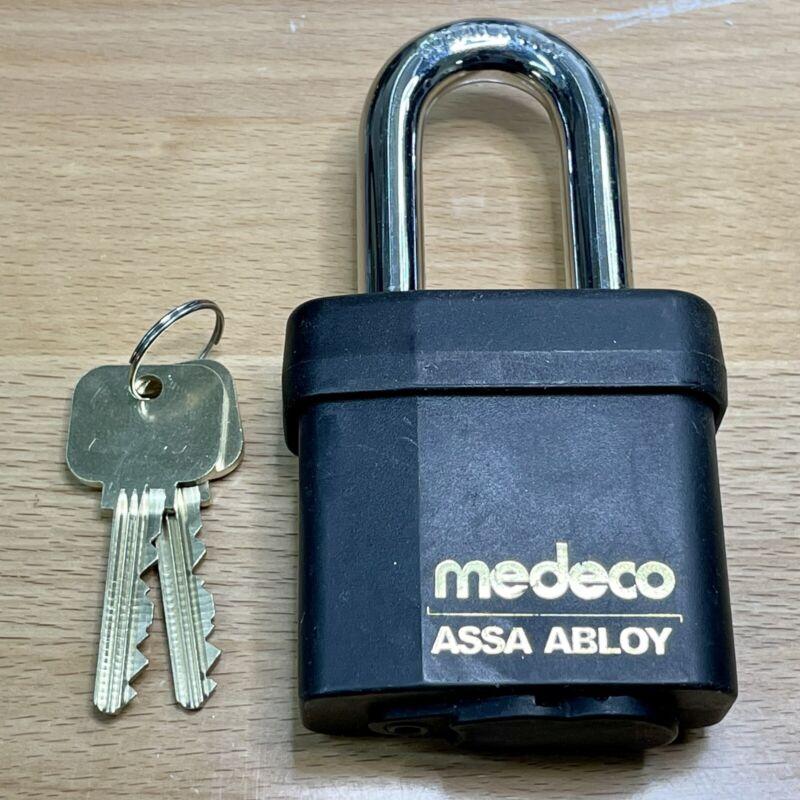 MEDECO Biaxial 54 Series High Security Padlock w/ 2 Keys - Locksport