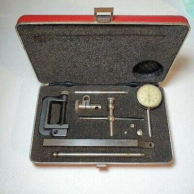 Starrett Dial Test Indicator Model196 W Case