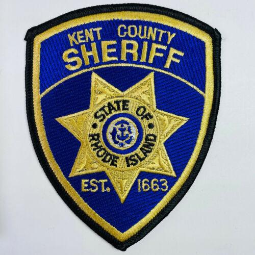 Kent County Sheriff Rhode Island RI Patch (A2)