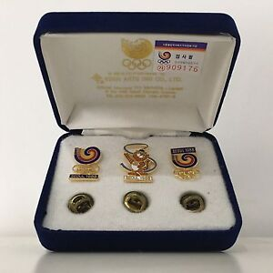 Seoul 1988 Official Memorial Pin Set