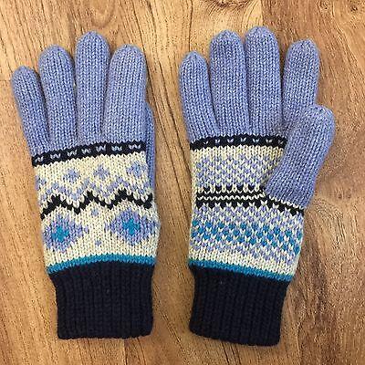 Berkshire Fashions Wool Blend Gloves Warm Fleece Lined Never Worn Ladies OSFM