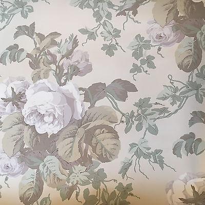 Vintage Wallpaper Floral Ivy Neutral Soft Colors  Ivy Vintage Tapete