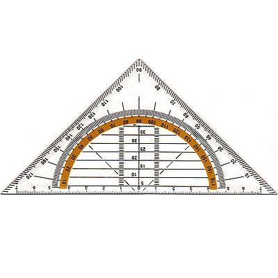 Geodreieck Geometrie Lineal Geometriedreieck Schullineal Dreieck