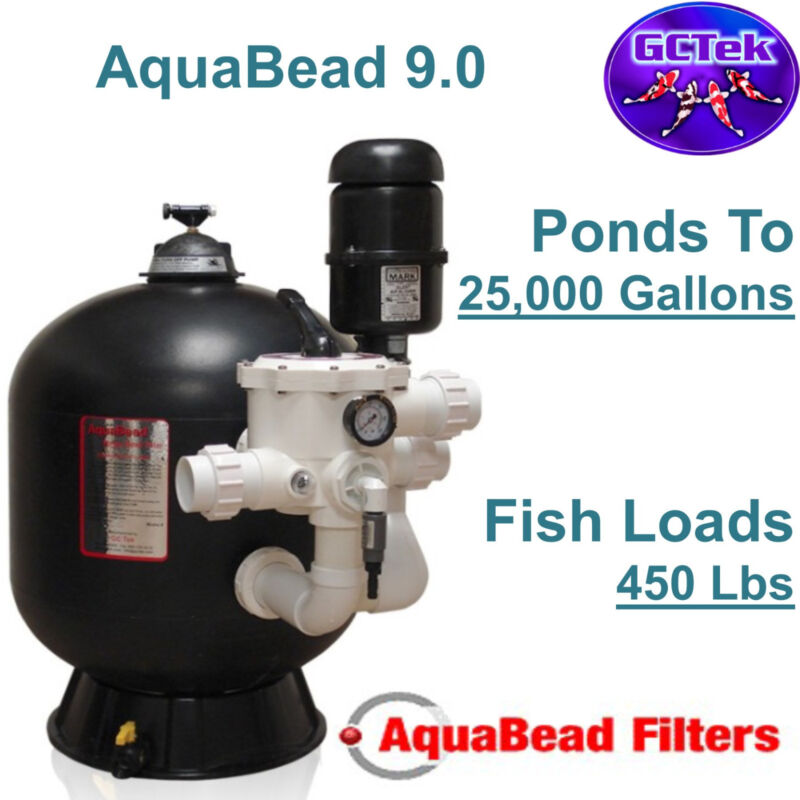 Gc Tek Aquabead 9.0 Bead Filter Ab9.0 For Ponds To 25,000 Gallons 450 Fish Load