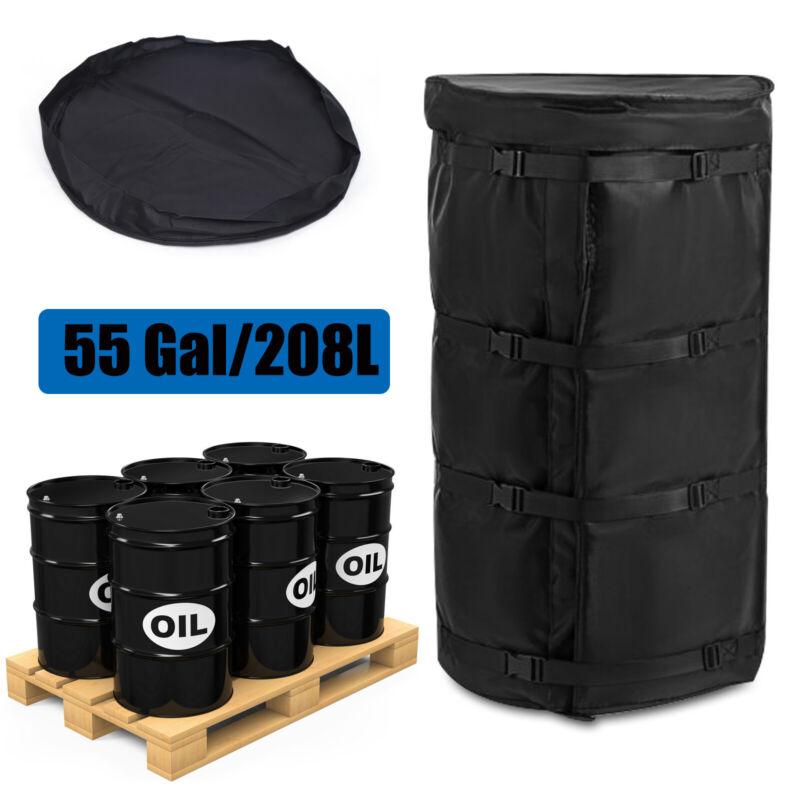 55 Gal Drum Thermal Blanket Barrel Heater detachable 208L Drum Heating Blanket