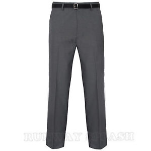 Trousers Mens Office Formal Business Pants Big Plus King Size 30-62