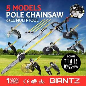 1 Petrol Pole Chainsaw Hedge Trimmer Whipper Snipper Pruner 65cc Melbourne CBD Melbourne City Preview