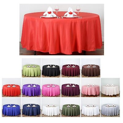 Round Party Tablecloths (108