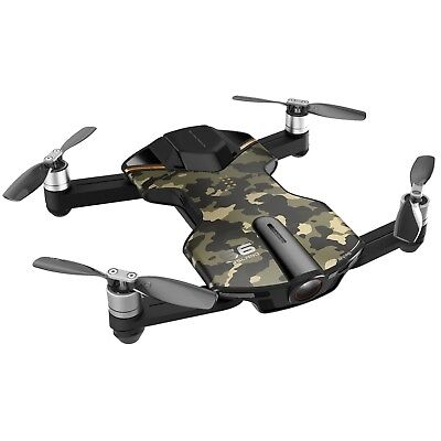 Black Friday! Factory Refurbished! Wingsland S6 Outdoor 4K Pocket Drone Camo
