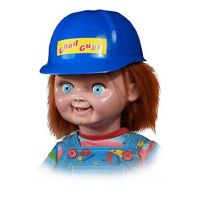 Chucky Good Guys Doll Halloween Collectible Decoration Construction Helmet Prop](Good Guys Doll)