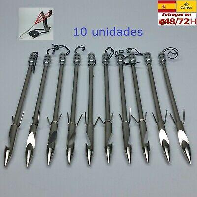Dardos de acero para tirachinas slingshot deportivo profesional caza pesca metal