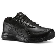 Reebok Men's Work N Cushion 2.0 4E Shoes, Black