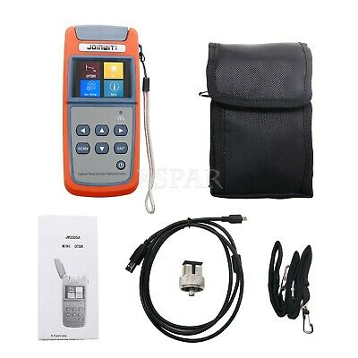 Jw3305a Optical Time Domain Reflectometer Otdr Built-in Visual Fault Locator Xr-