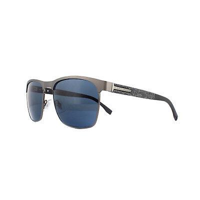 Hugo Boss Gafas de Sol 0984/S Riw Ku Mate Gris Azul
