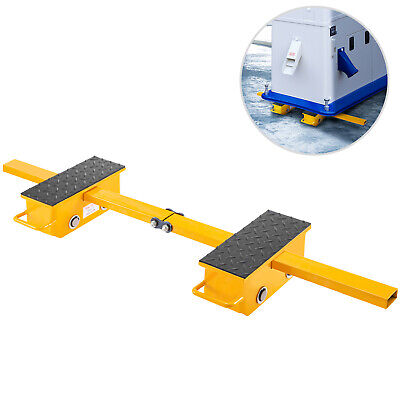 Vevor Machine Dolly Skate Machinery Roller Mover Cargo Trolley 2.5t 2 Roller