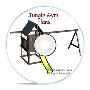 PLANS-TO-BUILD-A-KIDS-CUBBY-PLAYHOUSE-BACKYARD-JUNGLE-SWINGS-WITH-ROOF-CD