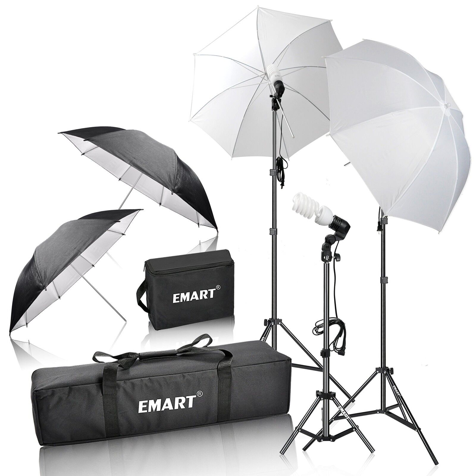 Emart 600W Photography Light Photo Video Studio Umbrella Lig
