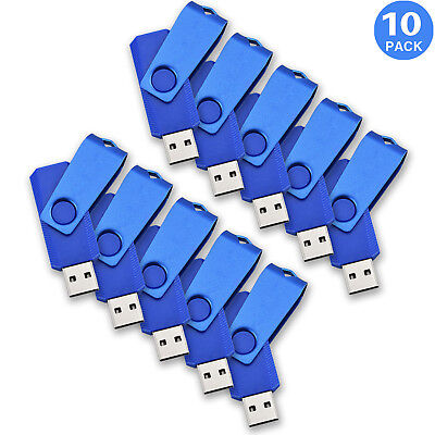 10/20/50 Stück 4GB Rotierend 2.0 USB SpeicherStick Speichermedien Großhandel   10 Stück Usb