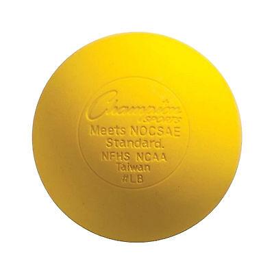 NEW Yellow Lacrosse Balls NOCSAE / SEI /NFHS/NCAA Certified Single lacrosse Ball