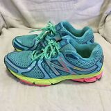 WOMEN'S NEW BALANCE #580 V4 RUNNING SHOES - BLUE GREEN PINK ( SIZE 8.5 )