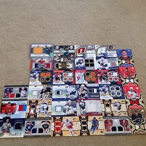 Rookies autographs Jerseys rare hockey Cards rookie
