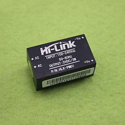 Hi-link Hlk-pm12 Ac-dc 220v To 5v 3w Buck Step Down Power Supply Module Convert