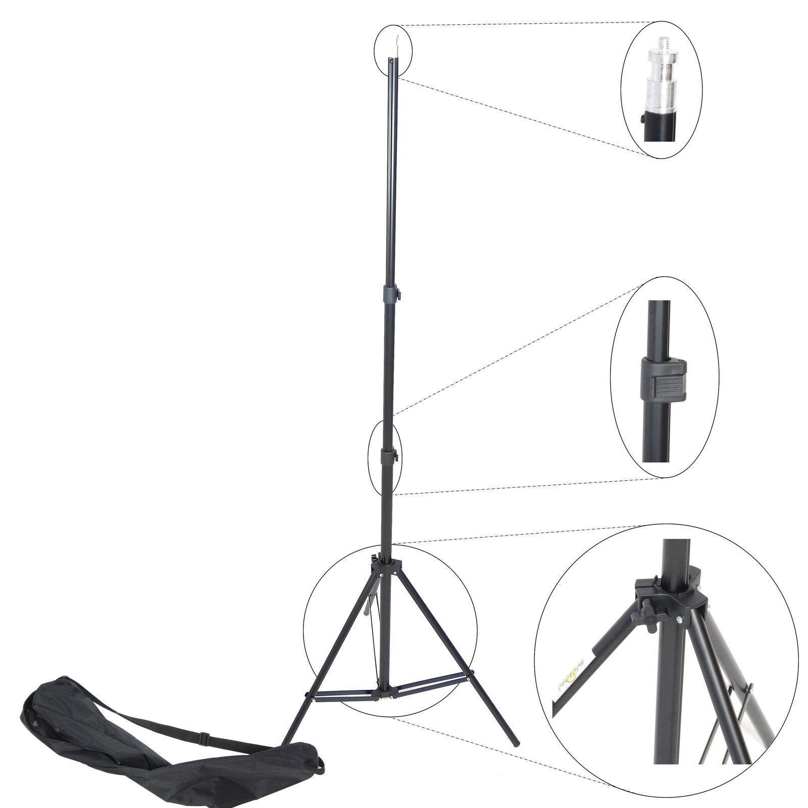 Cavalletto Stativo Professionale Foto e Video DynaSun W803 220cm x Flash e Luci