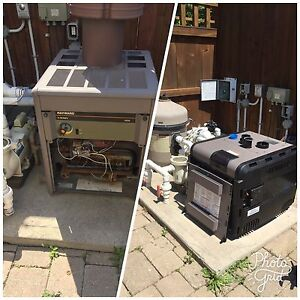 Pool heater repair and installation available