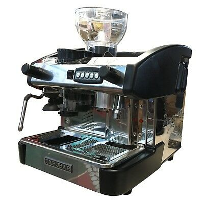 Expobar New Elegance 1 Group Automatic Espresso Machine Wgrinder