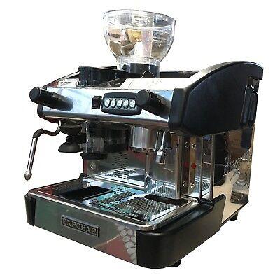 Expobar New Elegance 1 Group Automatic Espresso Machine Wgrinder