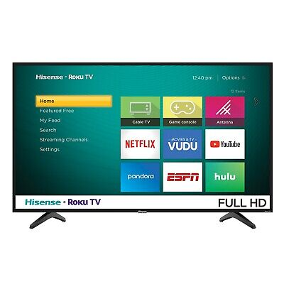 "Hisense 40"" Class FHD (1080P) Roku Smart LED TV (40H4030F) - Refurbished"
