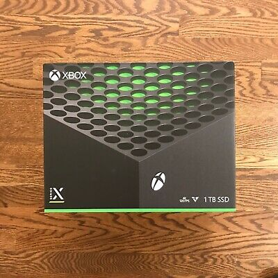 New & Sealed Microsoft Xbox Series X 1TB Console Black, In Hand, Ready to Ship