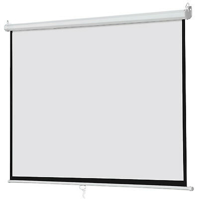 100 Big Projector Screen 169 Projection Hd Home Theater Portable Movie Screen