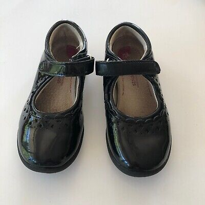 STRIDE RIDE Girl's Black Patent Leather Mary Jane Shoes 10.5M Black Patent Leather Kids Shoes