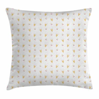 Sweet Ice Cream Throw Pillow Cases Cushion Covers Home Decor