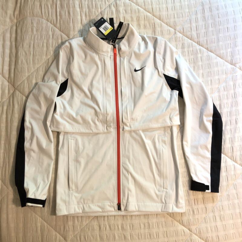$225 Men's Nike HyperShield Rapid Adapt Convertible Golf Jacket Sz: S CK6156-121