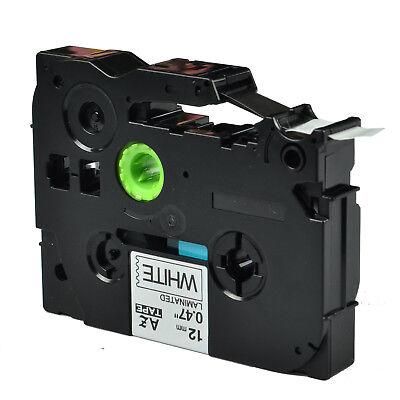6pk Tze231 Tz 231 Black On White Label Tape For Brother P-touch Pt-1280sr 12mm