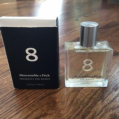 3.4 oz Abercromie & Fitch 8 Women's Perfume