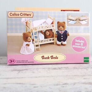 BNIB Calico Critters Bunk Beds