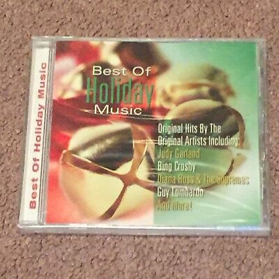 Best of Holiday Music by Various Artists (CD, Music, Christmas, 2001) Brand