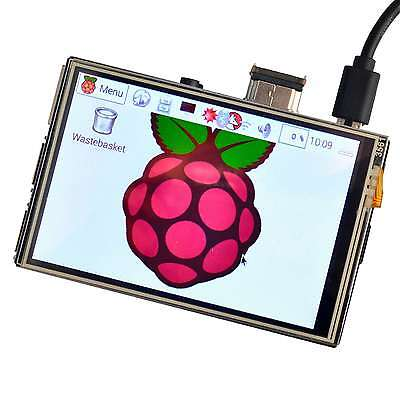 """US 3.5"""" HDMI Touchscreen LCD Display for Raspberry Pi 2 3 1920x1080  Video Game"""