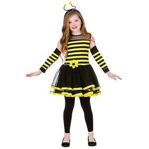 Bumble bee costume ebay girls bumble bee costumes gumiabroncs Gallery