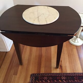 Drop leaf dining or side table